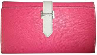 Hermes Béarn leather companion travel wallet