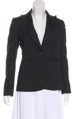 Theory Virgin Wool Pinstripe Blazer
