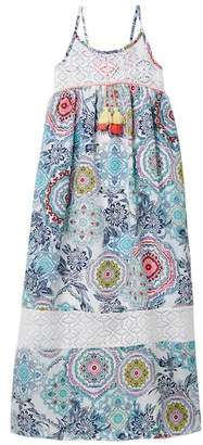 Truly Me Sleeveless Empire Maxi Dress (Big Girls)