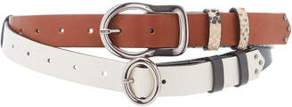 Schumacher Dorothee New Combinations Thin Leather Belt