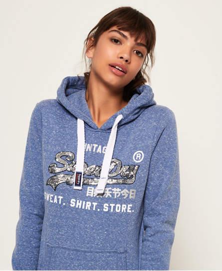 Shirt Shop Sequin Hoodie