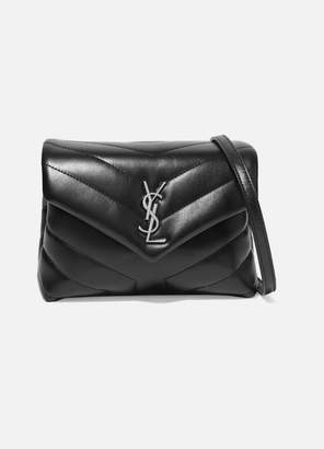 Saint Laurent (サン ローラン) - Saint Laurent - Loulou Toy Quilted Leather Shoulder Bag - Black
