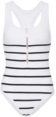 Heidi Klein Core striped swimsuit