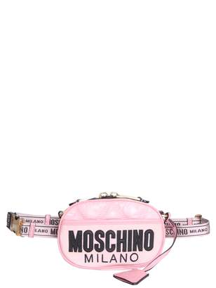 Moschino Nylon Quilted Pouch