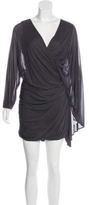 Yigal Azrouel Draped Mini Dress