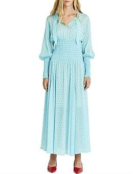 Kate Sylvester June Long Sleeve Maxi Dress