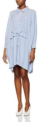 Peter Jensen Women's WDR6150 LS A-Linie|#268 Striped Long Sleeve Regular Dresses,8 (Manufacturer Size:Small)