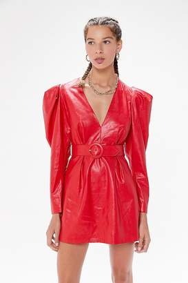 Ronny Kobo Guilia Faux Leather Dress