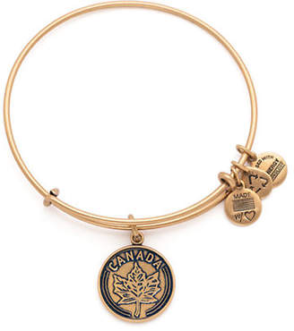 Alex and Ani Places We Love Canada Maple Leaf Bangle