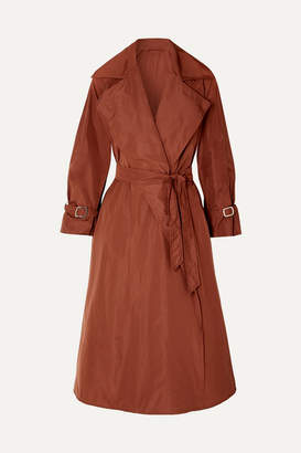Max Mara Shell Trench Coat - Brown