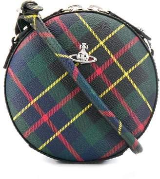 Vivienne Westwood tartan cross body bag