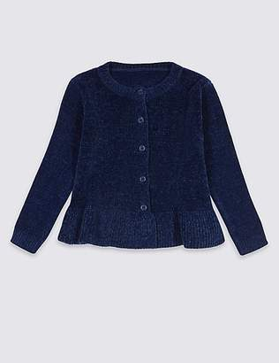Marks and Spencer Frill Hem Cardigan (3 Months - 7 Years)