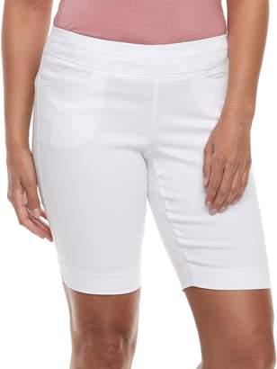 Apt. 9 Petite Elastic Waist Bermuda Shorts