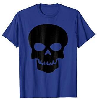 Coolest Halloween Black Skull T-shirt for Kids & Adults