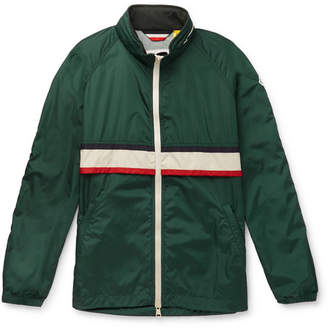 Moncler Genius - 2 1952 Allos Contrast-Trimmed Nylon Jacket - Green