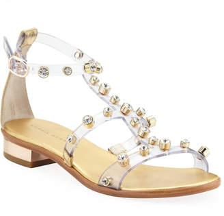 Sophia Webster Dina Studded Flat Sandals