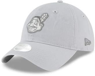 New Era Women's Cleveland Indians 9TWENTY Glisten Adjustable Cap