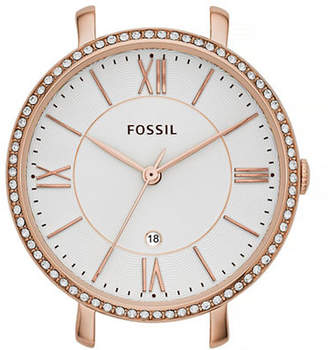 Fossil Rose Goldtone Pave Bar Watch Case