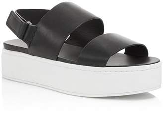 Vince Women's Westport Leather Platform Sandals - 100% Exclusive