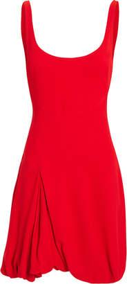 3.1 Phillip Lim Bubble-Hem Red Mini Dress