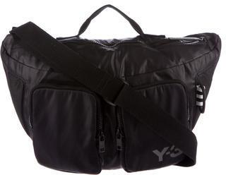 Y-3Y-3 Mesh-Trimmed Crossbody Bag