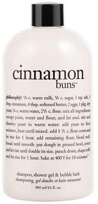 philosophy cinnamon buns shampoo, shower gel and bubble bath gift with purchase