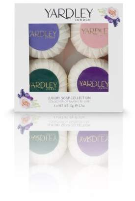Yardley London of London Luxury Soap Collection 4 Piece Gift Set for Women
