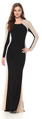 Xscape Evenings Women's Long Sleeve Dress