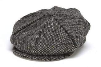 5bec71285f314 Hanna Hats Men s Donegal Tweed 8 Piece Cap Newsboy Cap XL