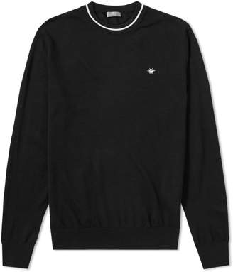 Christian Dior Taping Crew Neck Knit