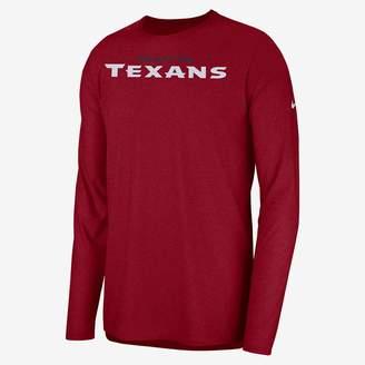 Nike Dri-FIT Player (NFL Texans) Men's Long Sleeve Top
