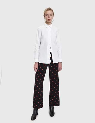 Ganni Olayan Scalloped Shirt