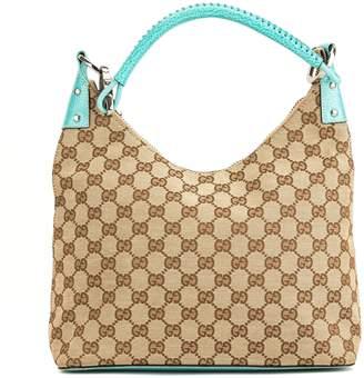 Gucci Turqouise GG Monogram Hobo (4004017)