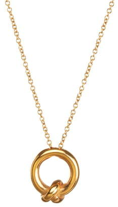 Dogeared Love You, Sister Together Knot Pendant Necklace