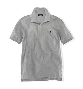 Polo Ralph Lauren Solid Mesh Polo Shirt 8-14 Years