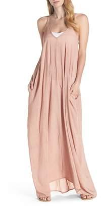 Elan International V-Back Cover-Up Maxi Dress