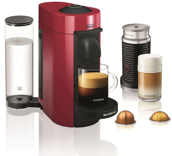Nespresso Nespresso Vertuo Plus Coffee & Espresso Machine with Aeroccino Milk Frother