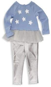 Juicy Couture Baby Girl's Two-Piece Star Tunic & Leggings Set