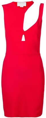 Esteban Cortazar Knit cut out short dress