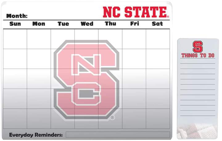 Kohl's North Carolina State Wolfpack Dry Erase Calendar & To-Do List Pad Set