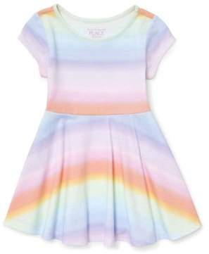 Children's Place The Knit Ombre Rainbow Dress (Baby Girls & Toddler Girls)