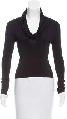 Herve Leger Tailored Long Sleeve Top