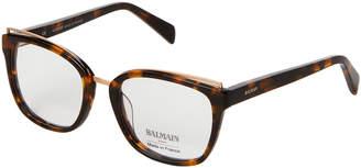 Balmain BL1083 Tortoiseshell-Look Cat Eye Optical Frames