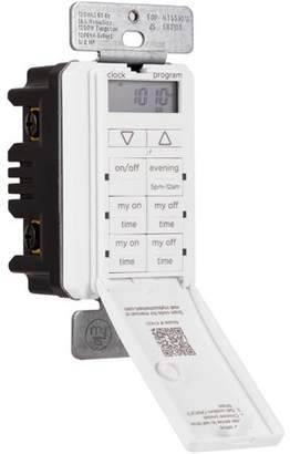myTouchSmart 24 Hour In-Wall Digital Timer, On/Off Push Door Switch, 41431