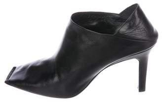 Balenciaga Square-Toe Mule Booties