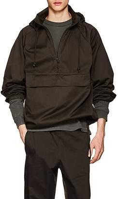 Yeezy Men's Oversized Cotton Twill Pullover Anorak