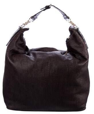 Stella McCartney Vegan Leather Pleated Bag Black Vegan Leather Pleated Bag