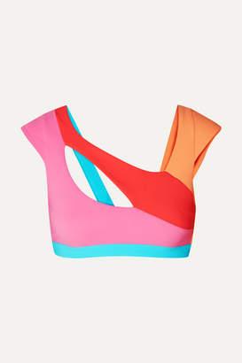 Agent Provocateur Izaro Color-block Bikini Top - Pink
