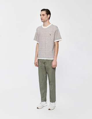 Saturdays NYC Varick Cotton Pant in Olive