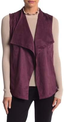 Romeo & Juliet Couture Faux Suede Vest